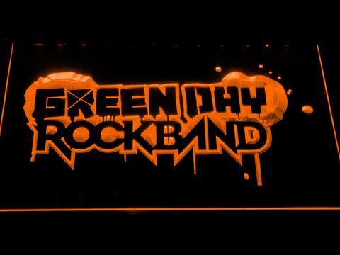 Green Day Rockband LED Neon Sign