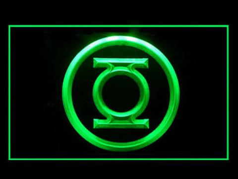 Green Lantern LED Neon Sign