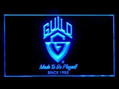 Guild Guitars LED Neon Sign