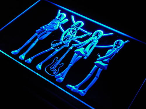 Guitar Girls Wanted Rock n Roll Neon Light Sign