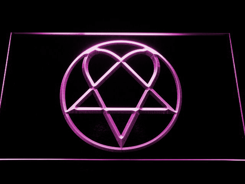 HIM Heartagram LED Neon Sign