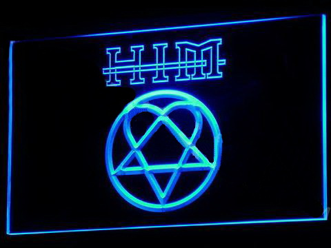 HIM Logo LED Neon Sign
