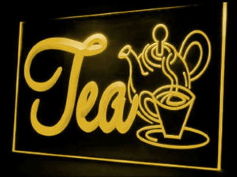 HOT British England Tea Cafe LED Neon Sign