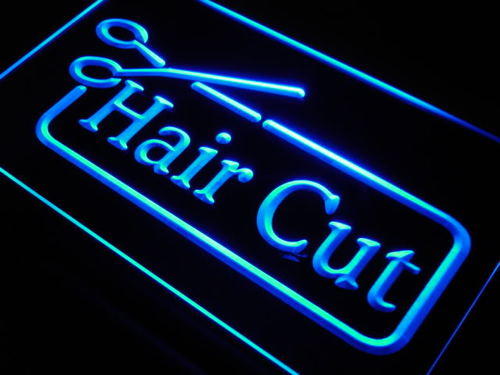 Hair Cut Barber Scissor Salon