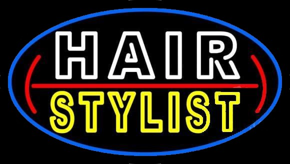 Hair Stylist Neon Sign