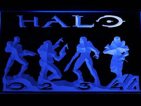 Halo 2 LED Neon Sign