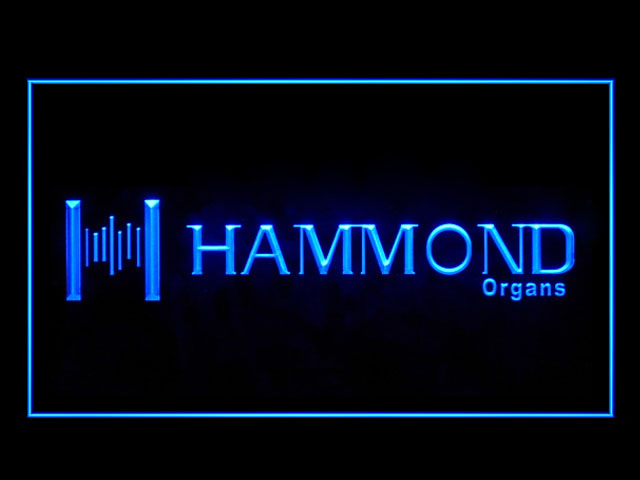 Hammond Organs Speaker Display Led Light Sign