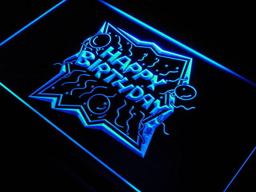 Happy Hour 2 For 1 Bar Beer Pub Neon Light Sign