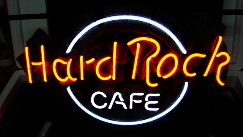 Hard Rock Cafe Neon Light Sign 16 x 12