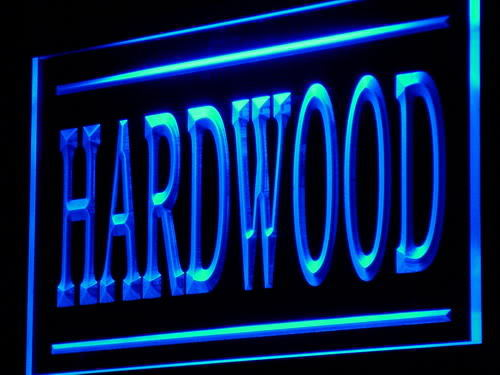 Hardwood Wood Supply Shop Lure neon Light Sign