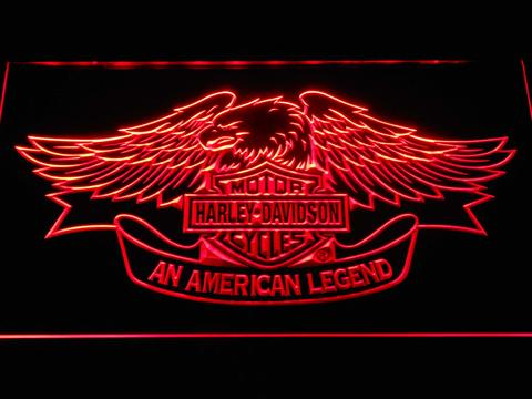 Harley Davidson American Legend LED Neon Sign