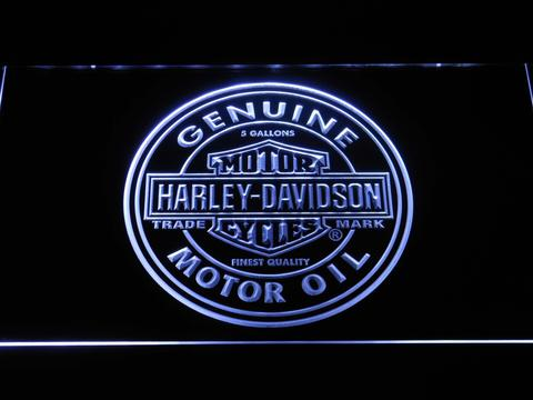 Harley Davidson Genuine Motor Oil LED Neon Sign