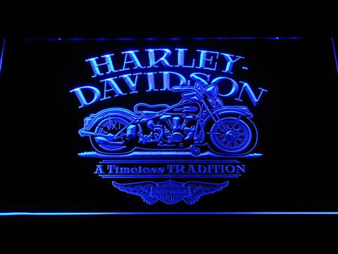 Harley Davidson Timeless Tradition LED Neon Sign