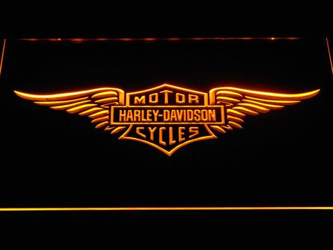 Harley Davidson Wings LED Neon Sign