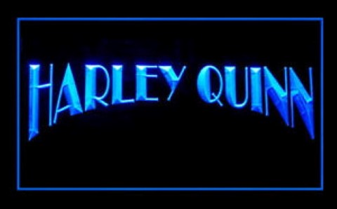 Harley Quinn For Game Room LED Neon Sign