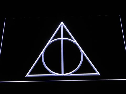 Harry Potter and the Deathly Hallows LED Neon Sign