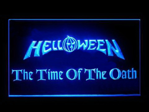 Helloween The Time Of The Oath LED Neon Sign