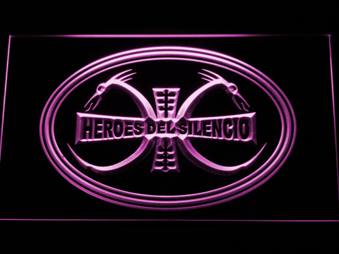 Heroes Del Silencio Dragons LED Neon Sign