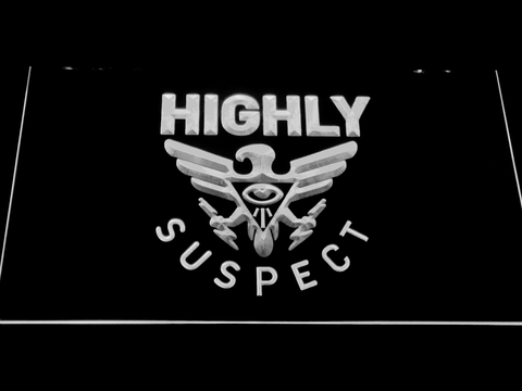 Highly Suspect LED Neon Sign