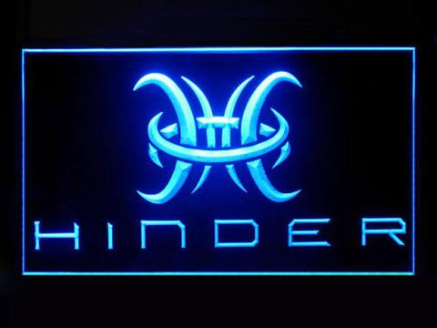 Hinder 2 LED Neon Sign