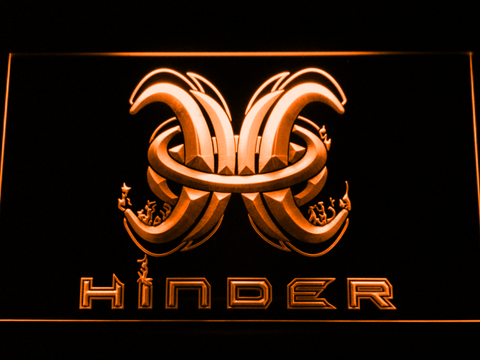 Hinder LED Neon Sign