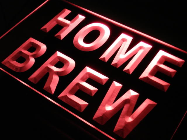 Home Brew Beer Bar Pub Wine Neon Light Sign