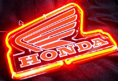 Honda Logo Automobile Neon Sign