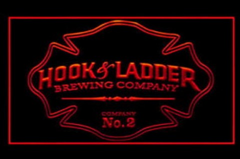 Hook And Ladder LED Neon Sign