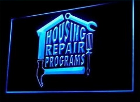 House Repair Programs LED Neon Sign