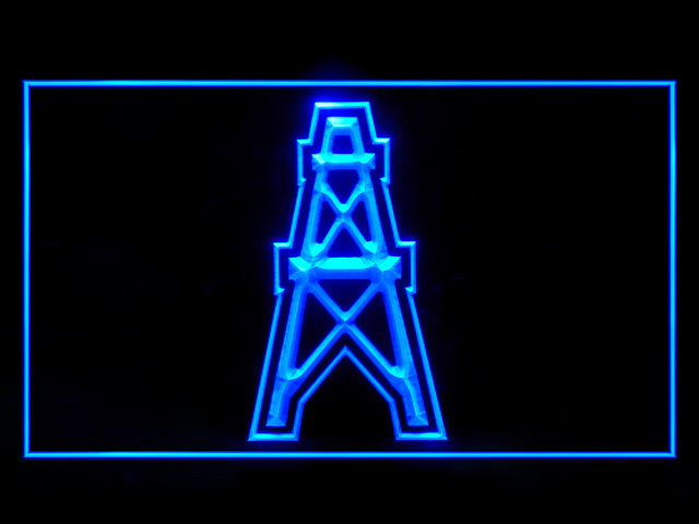 Houston Oilers 1980-1996 LED Sign