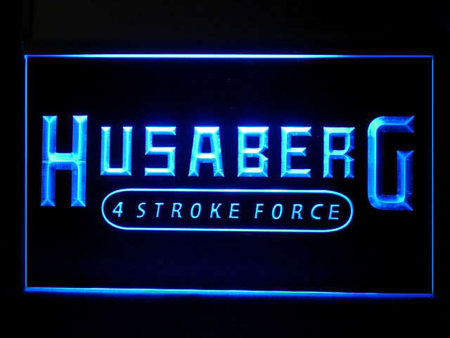 Husaberg 4 Stroke LED Light Sign