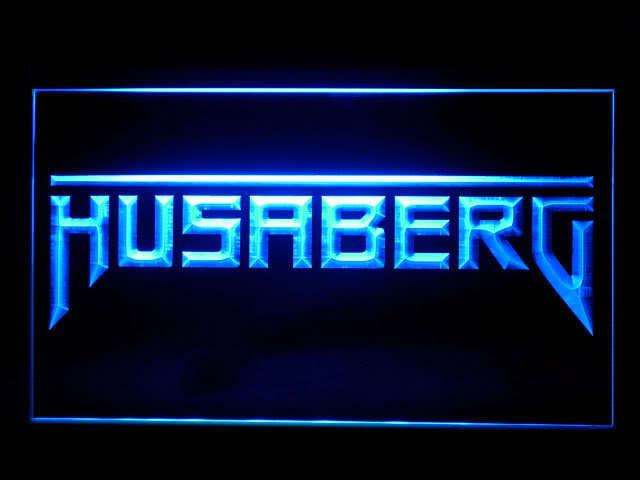 Husaberg Motorcycle LED Sign