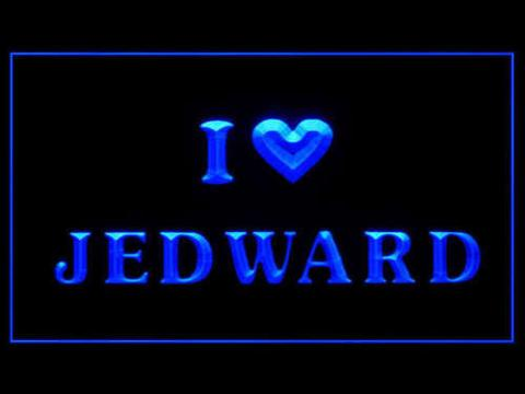 I Love Jedward LED Neon Sign