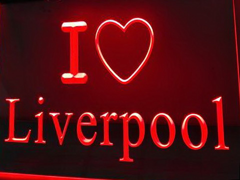 I Love Liverpool LED Neon Sign