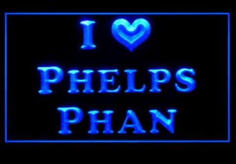 I Love Phelps Phan LED Neon Sign
