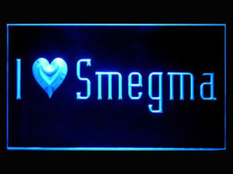 I Love Smegma LED Neon Sign