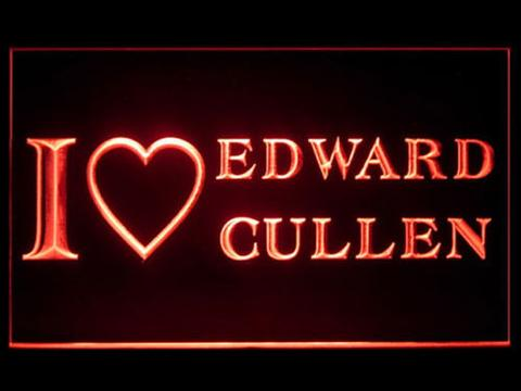 I love Edward Cullen LED Neon Sign