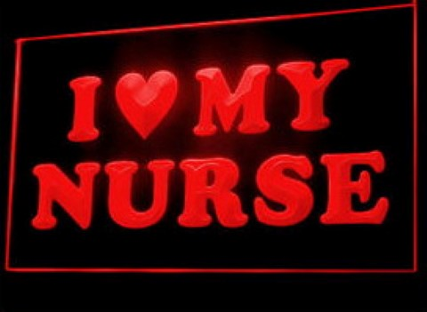 I love my nurse LED Neon Sign
