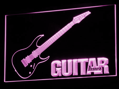 Ibanez Guitar LED Neon Sign