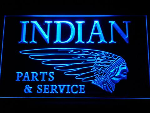 Indian Parts and Service LED Neon Sign