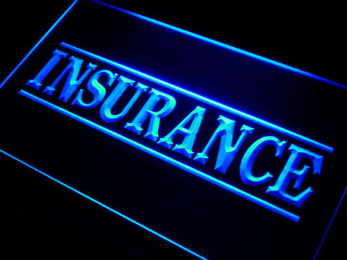 Insurance Services Neon Light Sign