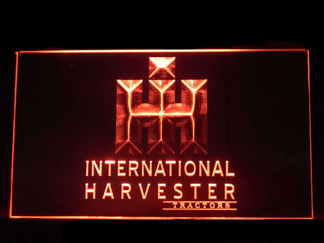 International Harvest LED Sign