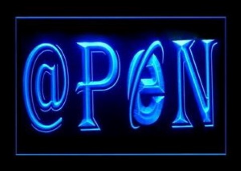Internet OPEN Game Room LED Neon Sign