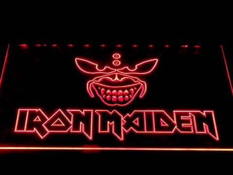 Iron Maiden 2 LED Neon Sign