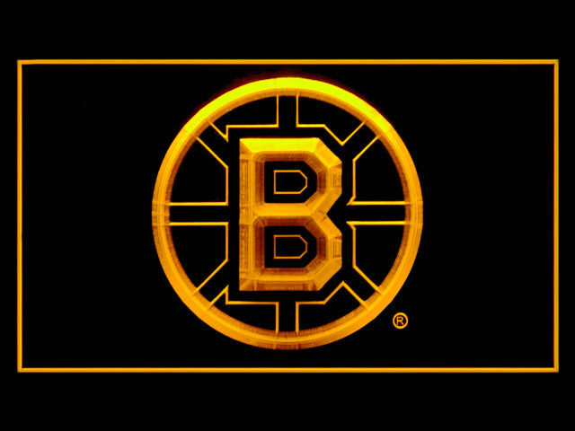 Boston Bruins Hockey Display Shop Neon Light Sign