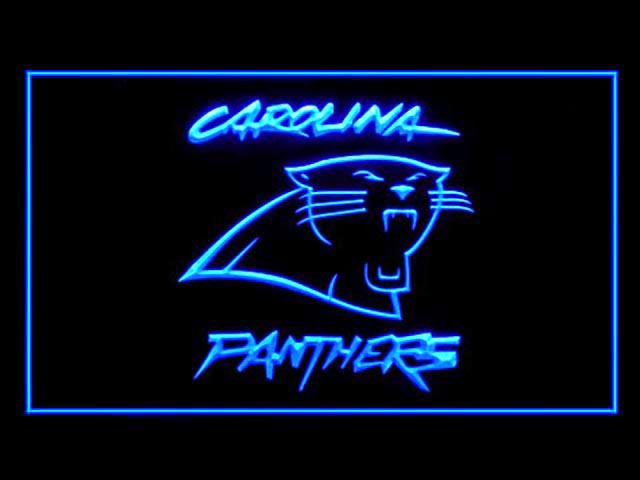 Carolina Panthers Display Shop Neon Light Sign