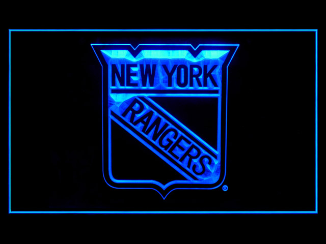 New York Rangers Display Shop Neon Light Sign