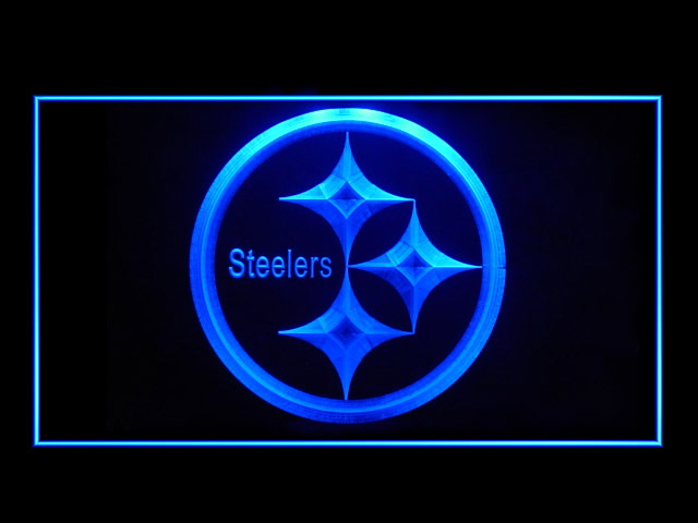 Pittsburgh Steelers Football Display Shop Neon Light Sign