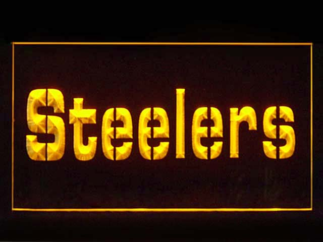 Pittsburgh Steelers Bar Shop Neon Light Sign