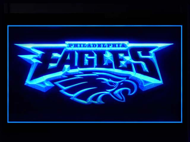 Philadelphia Eagles Logo Display Shop Neon Light Sign